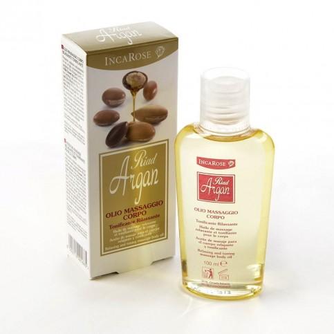 Riad Argan Olio Massaggio Corpo, flacone da 100 ml