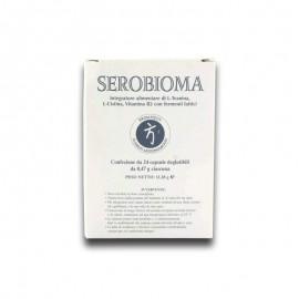 Bromatech Serobioma, confezione da 24 capsule deglutibili
