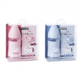 Suavinex Set Nascita Scottish - Azzurro e Rosa