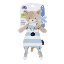 Chicco Pocket Friend 0m+ Azzurro