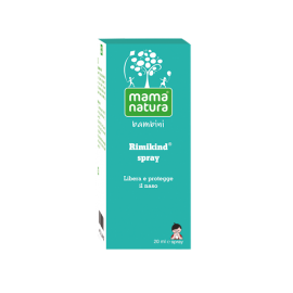 Rimikind Spray Decongestionante Nasale Mama Natura, Spray da 20ml