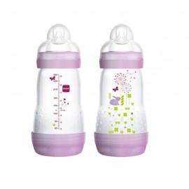 MAM First Bottle, biberon da 260ml 0+ mesi - Colori assortiti