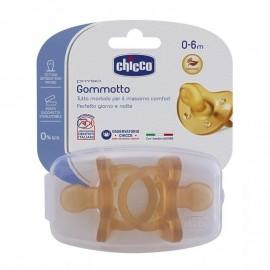 Chicco Gommotto Physio 0-6 mesi Caucciù - 2 pz