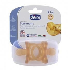 Chicco Gommotto Physio 6-12 mesi Caucciù - 2 pz