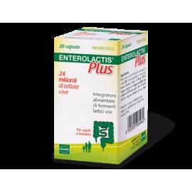 Enterolactis Plus, flacone da 20 compresse