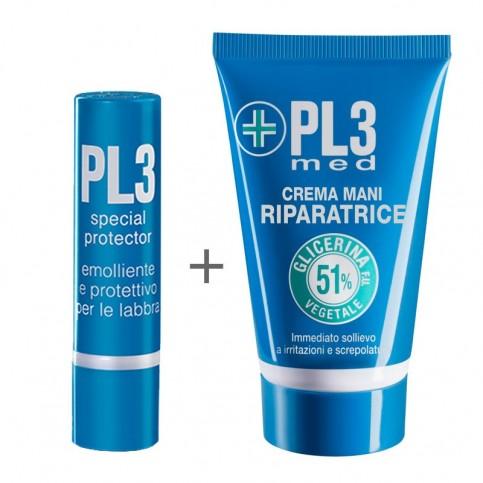 Pl3 Special Protector Labbra Ediz. Limitata con crema mani in omaggio 10ml