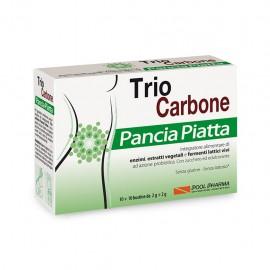 Trio Carbone Pancia Piatta, 10+10 bustine