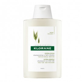 Klorane Shampoo al Latte di Avena, flacone da 200ml