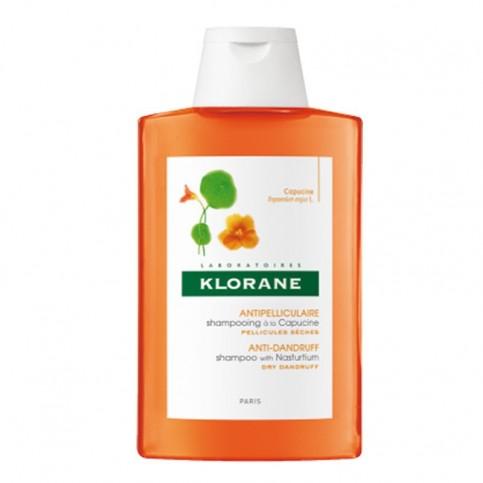 Klorane Shampoo All'estratto Di Cappuccina, flacone da 200ml