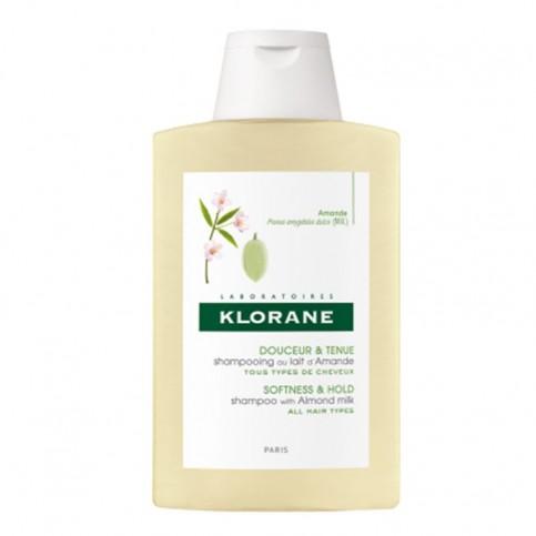 Klorane Shampoo Al Latte Di Mandorle, flacone da 200ml