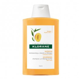 Klorane Shampoo Al Burro Di Mango, flacone da 200ml