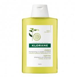 Klorane Shampoo alla Polpa di Cedro, flacone da 200ml