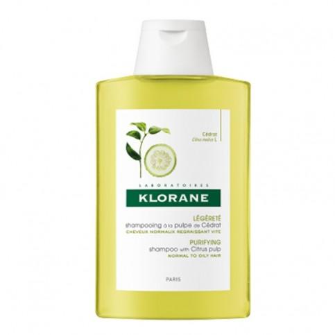 Klorane Shampoo alla Polpa di Cedro uso frequente, 200 ml