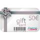 Gift Card Argento con buono acquisto da 50€