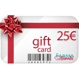 Gift Card con buono acquisto da 25€