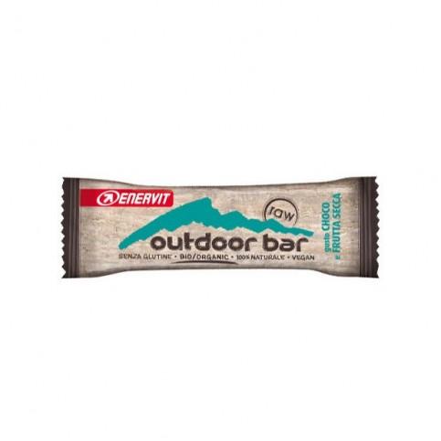 Enervit Outdoor Bar Raw Choco e Frutta Secca