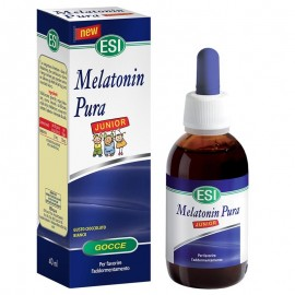 Melatonin Pura Junior gocce, Flacone da 40 ml con contagocce