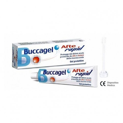 Buccagel Afte Rapid, tubo da 10ml