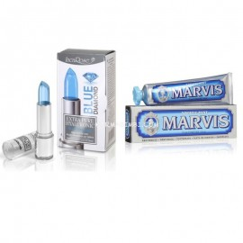 EPH BLUE DIAMOND +MARVIS Aquatic Mint, Stick labbra  4ml