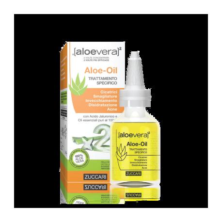 Zuccari Aloe Oil, flacone da 50ml