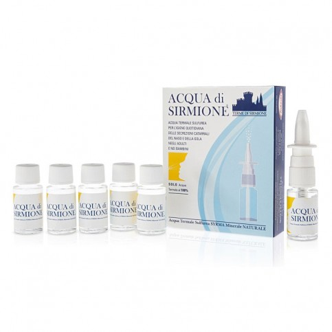 Acqua Di Sirmione spray, 6 flaconcini da 15ml