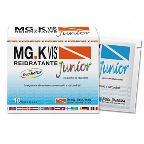 MG.K VIS Reidratante Junior, 10 bustine da 9,5 g
