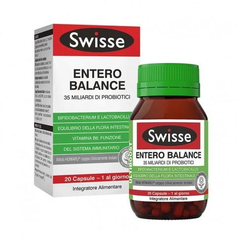 Swisse Entero Balance, flacone da 20 compresse