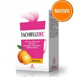 Tachifludec Arancia, 10 bustine da sciogliere in acqua
