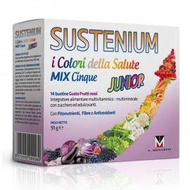Sustenium I colori della salute Mix Cinque Junior, 14 bustine da sciogliere in acqua