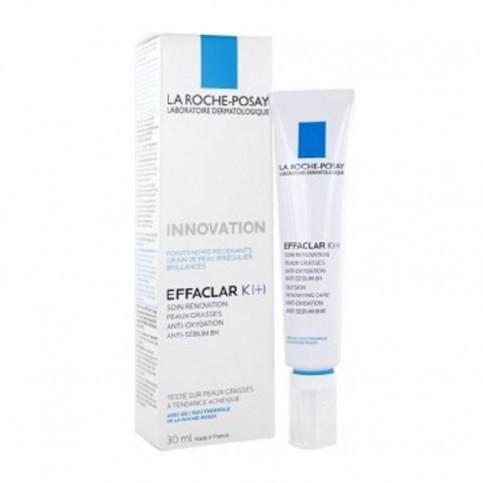 La Roche-Posay Effaclar K+ Trattamento Rinnovatore, tubo da 30 ml
