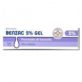 Benzac Gel 5%, tubo da 40g