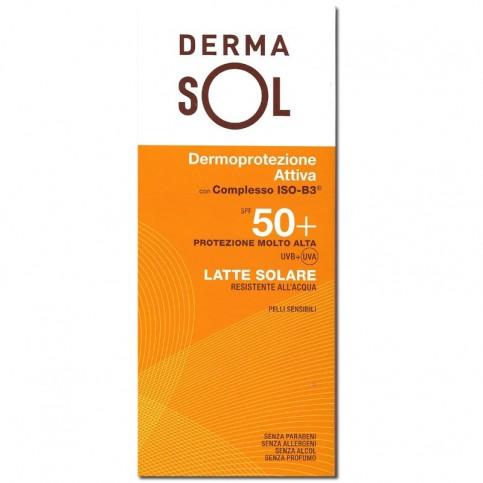 Dermasol Latte SPF 50+, flacone da 150ml