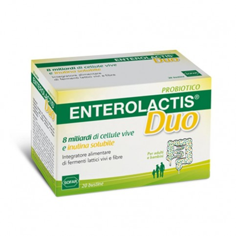 Enterolactis duo polvere, 20 bustine