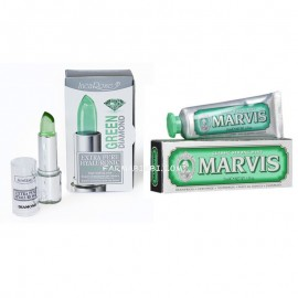 EPH GREEN DIAMOND, Stick labbra  4ml+ Marvis Strong Mint