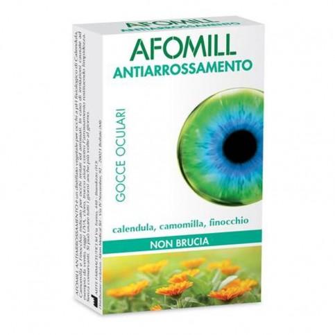 Afomill Collirio Antiarrossamento, 10 fialette monouso da 0.5 ml