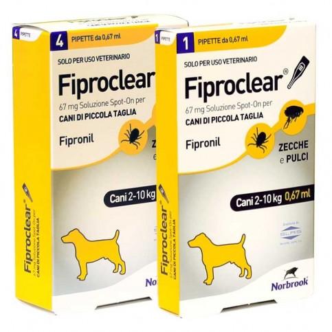 Fiproclear, pipette 67 mg, 134 mg, 268 mg, 402 mg