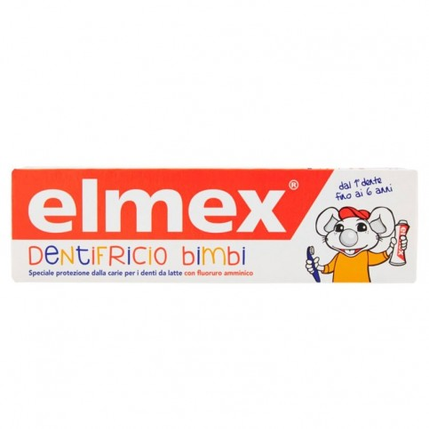 Elmex Dentifricio Bimbi, 50 ml - Prevenire la carie nei Bambini