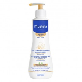Mustela Detergente Nutriente alla Cold Cream corpo e capelli, 300 ml