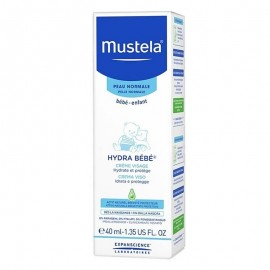 Mustela Hydra Bebé Crema Viso, 40 ml
