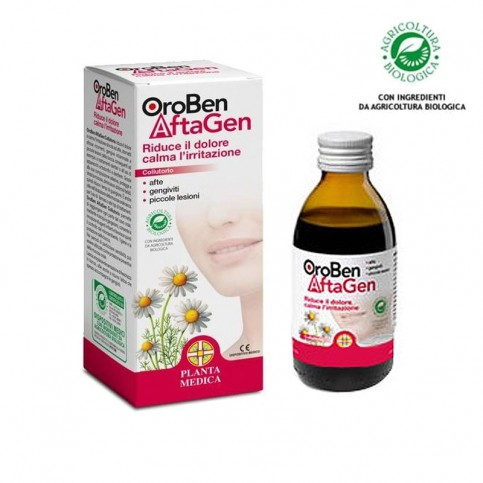 Planta Medica OroBen Aftagen Colluttorio Flacone da 30ml