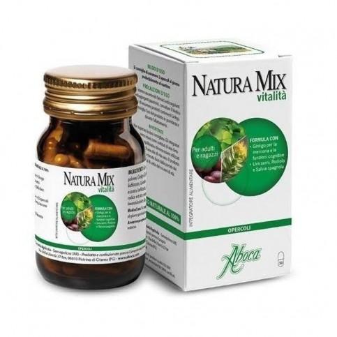 Aboca Natura Mix Vitalità Opercoli, 50 opercoli