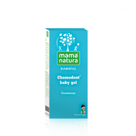 Chamodent Baby Gel Mama Natura, tubo da 10 ml