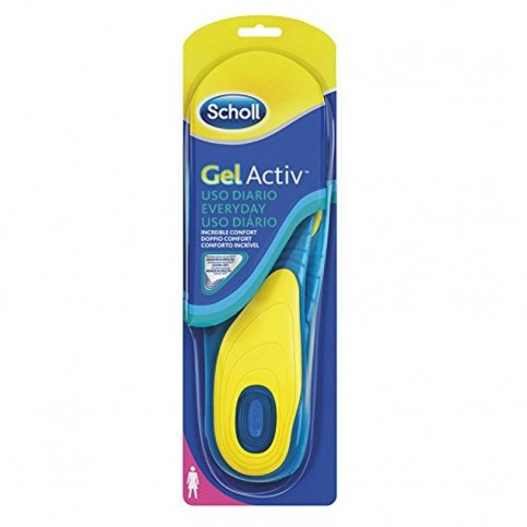 Scholl Gel Activ Everyday, Solette Donna 1 paio