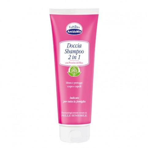 Euphidra AmidoMio Doccia shampoo 2 in 1, Flacone 250 ml