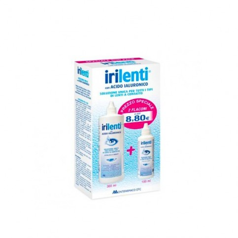 Irilenti Duo Pack, flacone da 360ml più flacone da 100ml