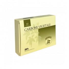 Zetavis Carbone Vegetale, confezione da 40 compresse
