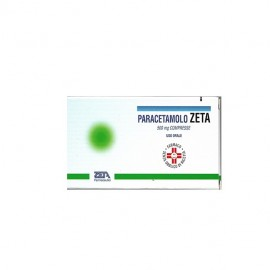 Paracetamolo Zeta, 20 compresse 500mg