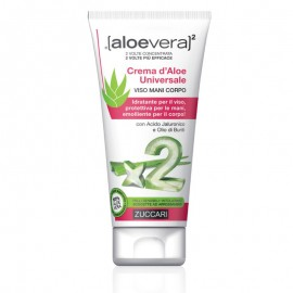 Zuccari Aloevera2 Crema d'Aloe Universale Viso Mani Corpo, tubo 75 ml