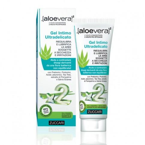 Zuccari Aloevera2 Gel Intimo Ultradelicato, tubo 80 ml