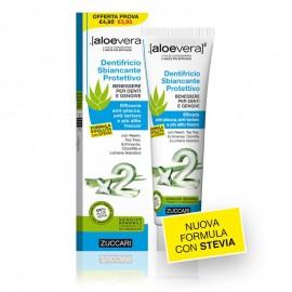 Zuccari Aloevera2 Dentifricio Sbiancante Protettivo,  tubo 100 ml